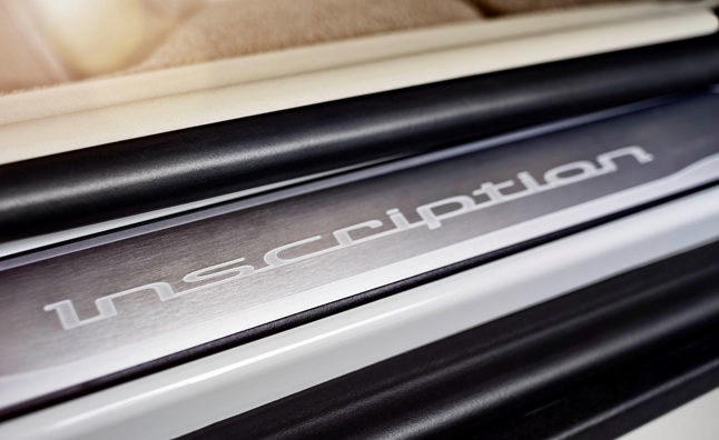 Volvo Introduces New 'Inscription Package'