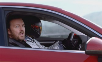 Audi A3 Ad Campaign Launches with Ricky Gervais
