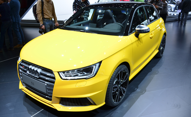 Audi S1 Looking Angry on Geneva Show Floor