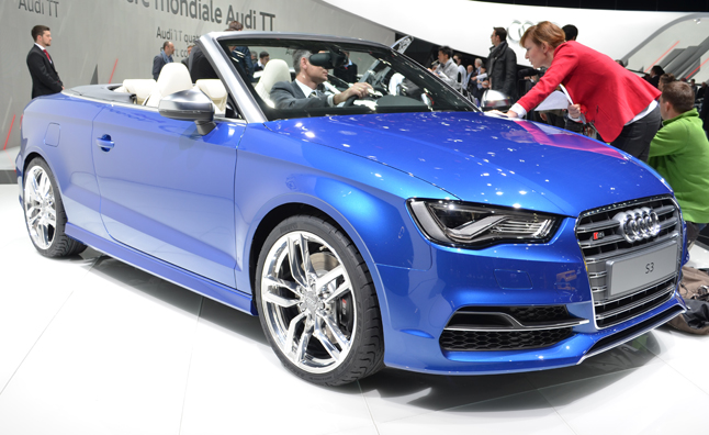 2014 Audi S3 Convertible Shows up in Geneva