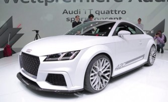Audi TT Quattro Sport Concept Video, First Look