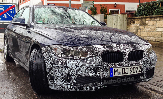 BMW 3 Series Upcoming Facelift Revealed in Spy Photos