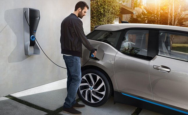 BMW Rapid Electric Car Charger Under Development
