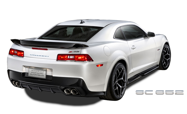 Callaway Camaro SC652 is a Supercharged Z/28 Beast