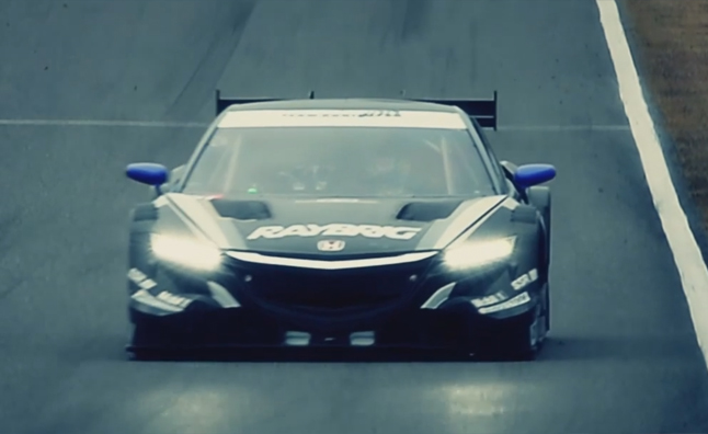Honda NSX GT Concept Hits the Track in New Video