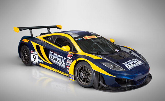 K-Pax McLaren 12C GT3 Revealed in Race Livery