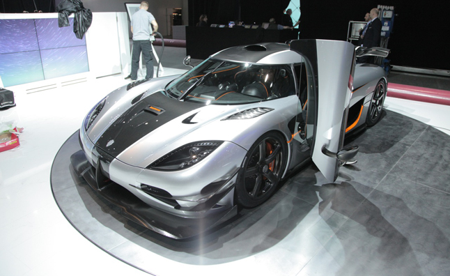 Koenigsegg Agera One:1 is a 1,340-HP Monster