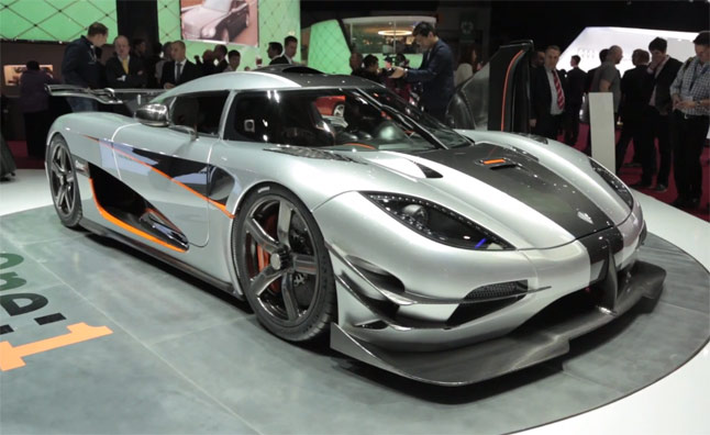 Koenigsegg Agera One:1 Video, First Look