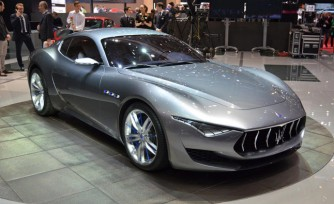 Maserati Alfieri Concept Video, First Look