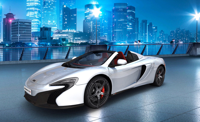 McLaren 650S Spider Gets a Design Studio Tablet App