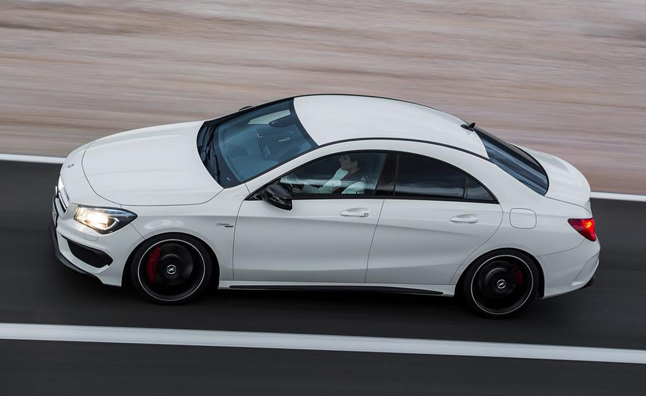 Mercedes CLA Production Increased on Hot Demand