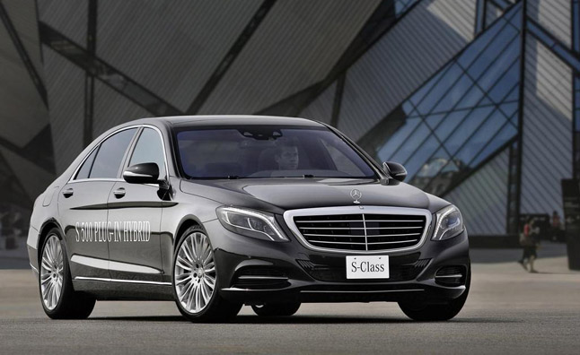 Mercedes S-Class to get All-Electric Variant