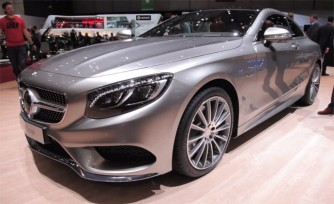 2015 Mercedes S-Class Coupe Video, First Look