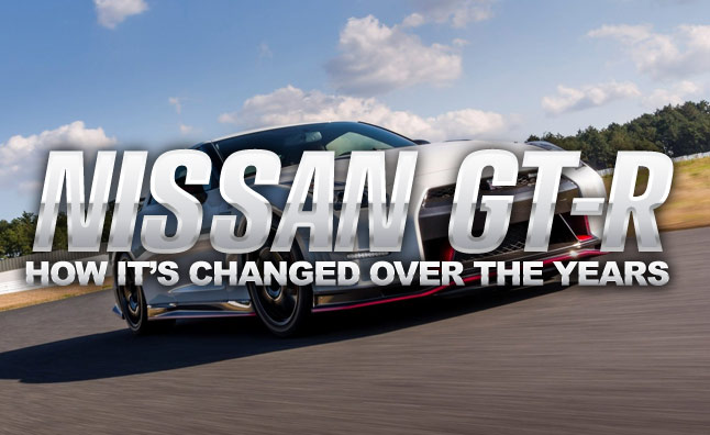 By the Numbers: How the Nissan GT-R Has Changed