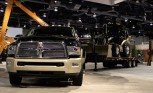 CASE Reveals Ram Laramie Longhorn-Inspired Backhoe