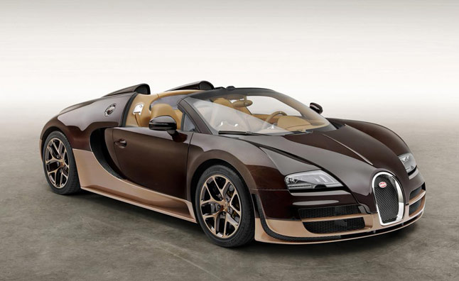 Rembrandt Bugatti Veyron Grand Sport Vitesse is a Brown Legend