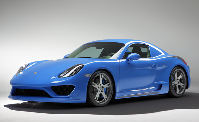 This Crazy Porsche Cayman Costs as Much as a Ferrari