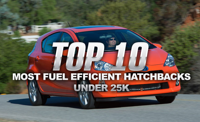 Top 10 Most Fuel Efficient Hatchbacks Under $25K