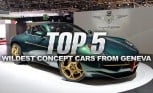 Top 5 Wildest Concept Cars of the Geneva Motor Show