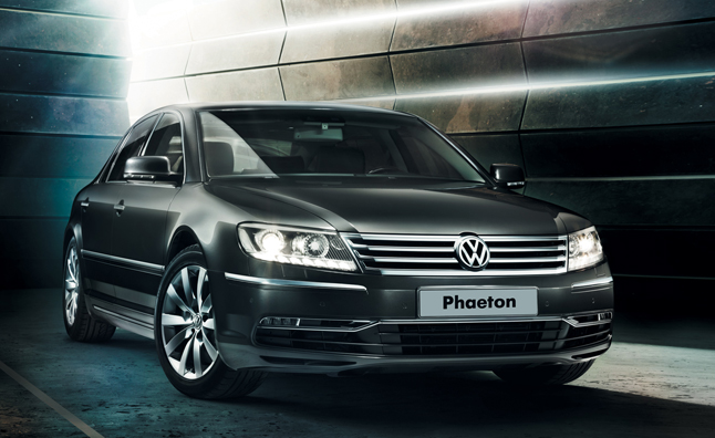 Volkswagen Confirms New Phaeton in Product Plans