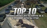 Top 10 Worst Vehicles to Drive in a Zombie Apocalypse