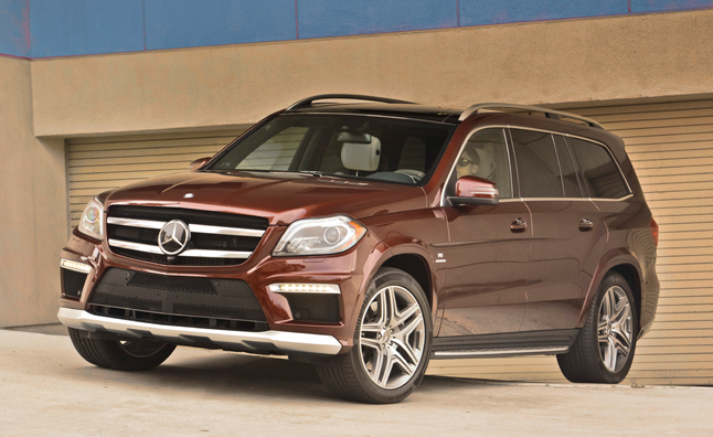 2014 Mercedes GL-Class Recalled for Child Seat Anchor Issue