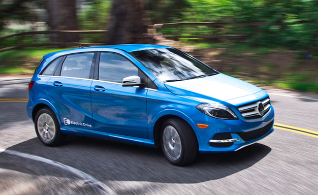 2014 Mercedes-Benz B-Class Electric Drive Pricing Announced