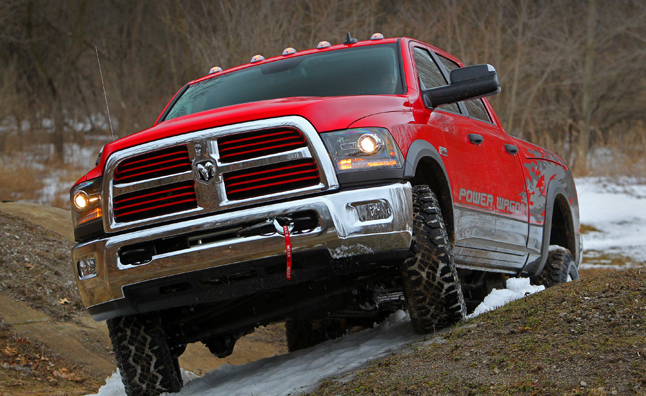 2014 Ram Power Wagon is Off-Road Ready