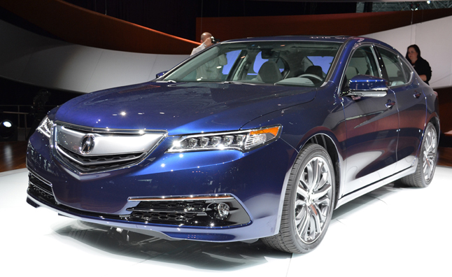 2015 Acura TLX Revealed in NY as TL, TSX Replacement