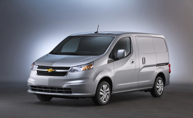2015 Chevy City Express Priced from $22,950