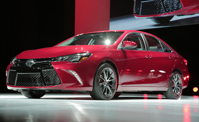 Toyota Camry Stripped Nude, Given New Clothes for 2015