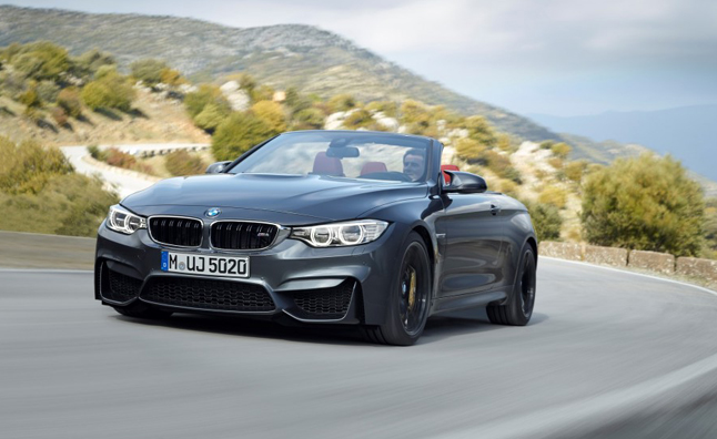 2015 BMW M4 Convertible Costs $73,425