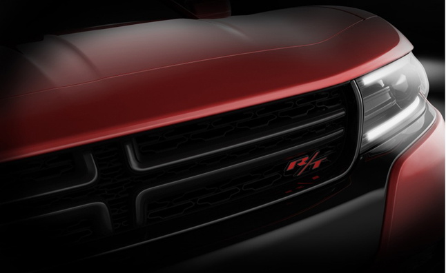 2015 Dodge Charger Teased Ahead of New York Debut