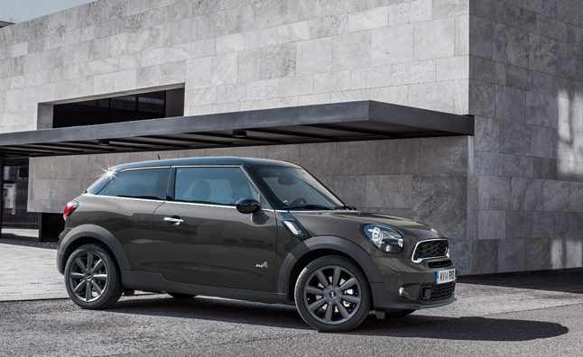 2015 MINI Paceman Bows in Beijing