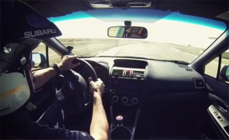 Watch WRC Champ Tommi Mäkinen Drive the 2015 Subaru WRX STI