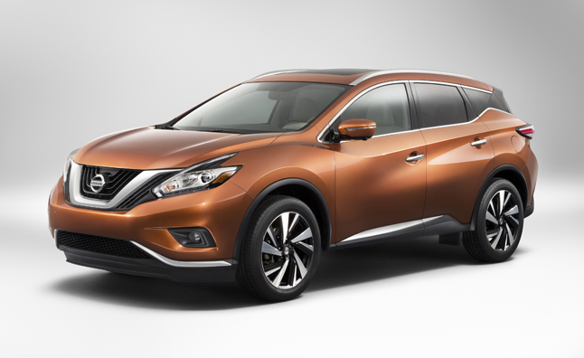2015 Nissan Murano gets New-Ish Style, More MPG