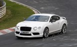 Bentley Continental GT3 Road Car Spied Testing