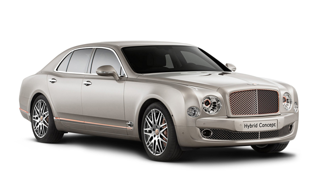 Plug-In Hybrid Bentley Concept Bound for Beijing