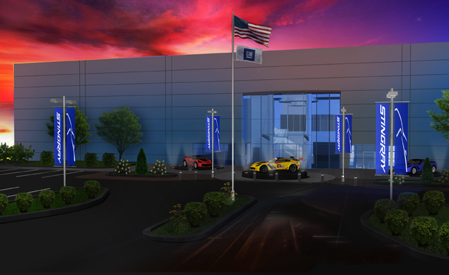 GM Announces New Race Engine Development Facility