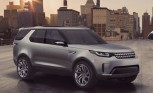 Land Rover Discovery Vision Concept Can be Driven by Remote Control