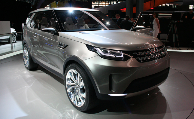 Land Rover's Discovery Vision Concept is an SUV of the Future