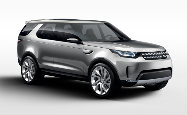Land Rover Discovery Vision Concept Sees The Future