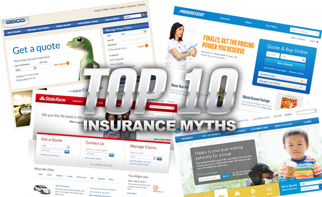 Top 10 Insurance Myths