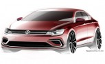 Volkswagen Midsize Coupe Concept Sketches Released