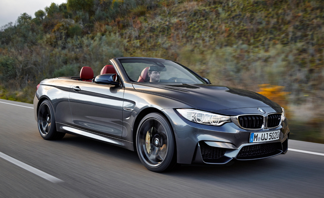 BMW M4 Convertible Revealed Ahead of New York Debut