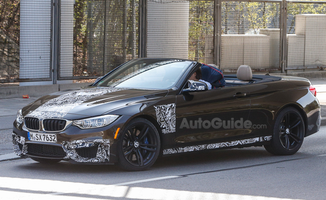 BMW M4 Convertible Almost Fully Revealed in Latest Spy Photos