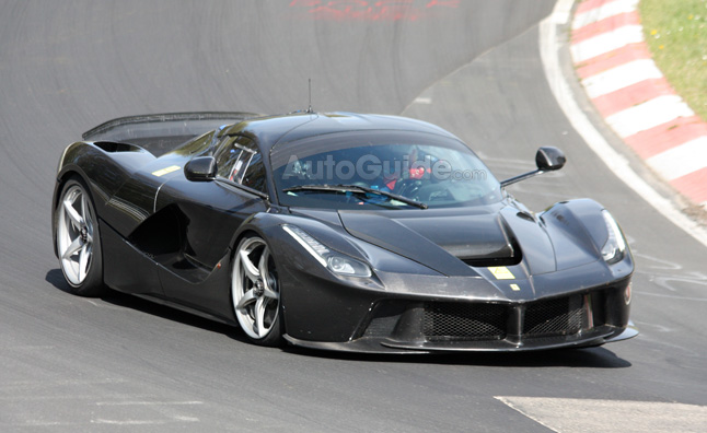 Ferrari LaFerrari XX Spotted for First Time in Spy Photos
