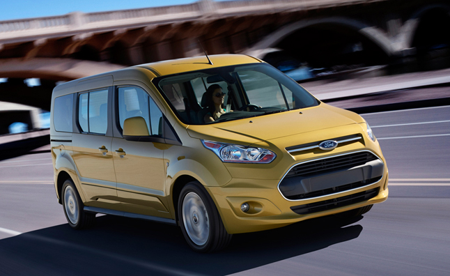 Ford Transit Connect Wagon Scores Top Safety Marks