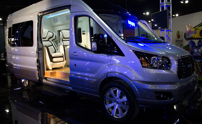 Ford Transit Skyliner Concept is a Private Jet on Wheels