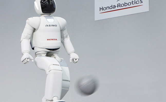 Honda's ASIMO Robot to Help Develop Self-Driving Cars